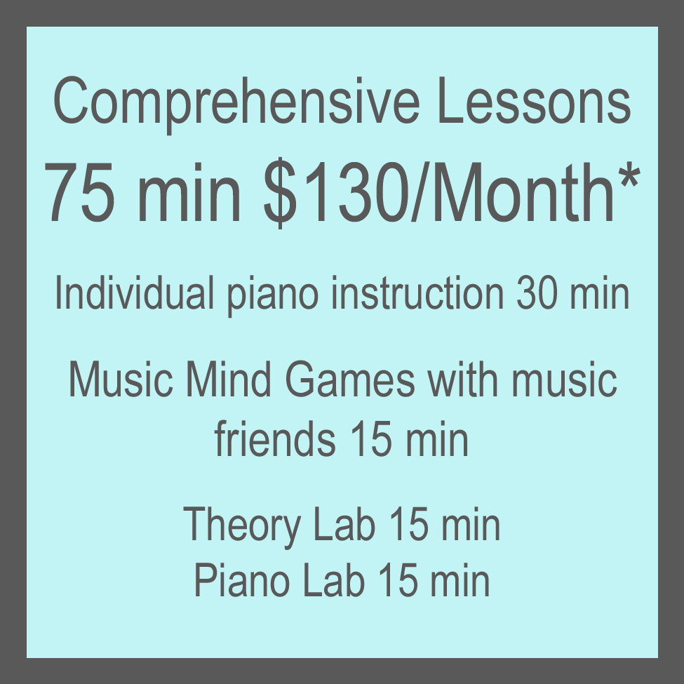 Comprehensive Lessons Info