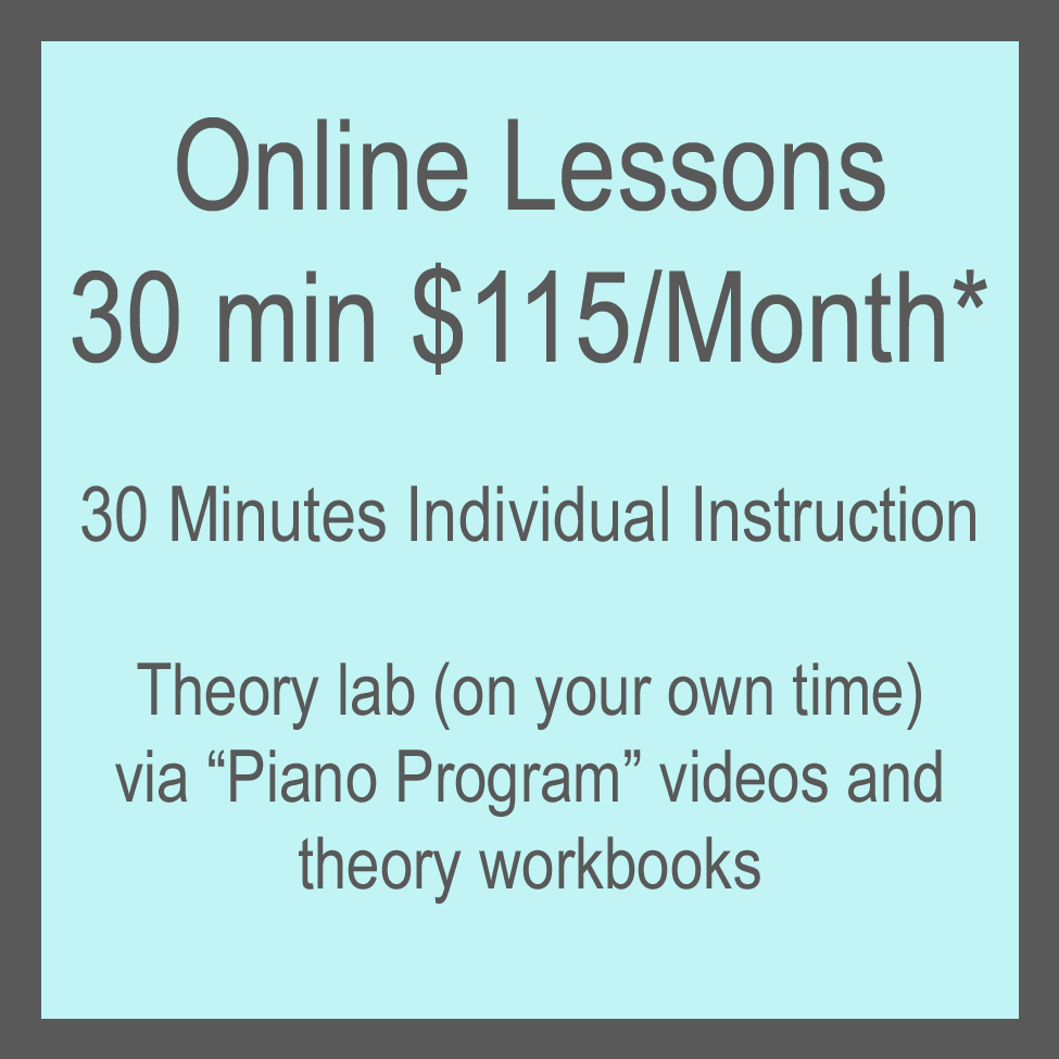 Online Lessons Info
